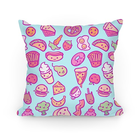 How To Make Cute Pillow Cases : Cute Foods Pillows and Pillow Cases HUMAN