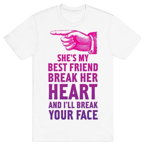 My Best Friend Break Her Heart Quotes