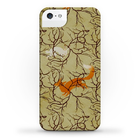 Fox Chase | iPhone Cases, Samsung Galaxy Cases and Phone Skins | HUMAN