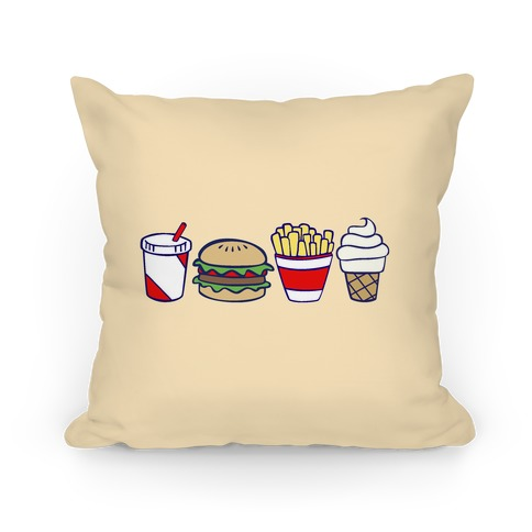 How To Make Cute Pillow Cases : Cute Fast Food Pillows and Pillow Cases HUMAN