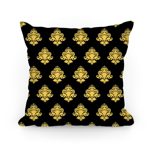 black gold classy pillow pillows and pillow cases human. Black Bedroom Furniture Sets. Home Design Ideas