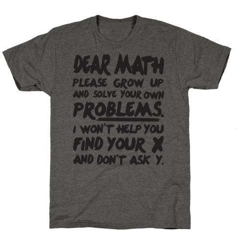 More Styles Dear Math
