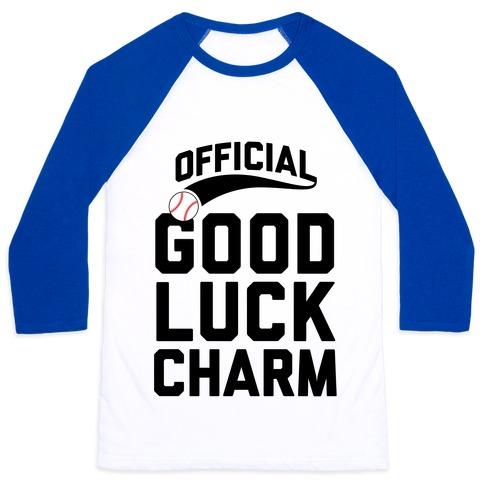 Baseball Good Luck Charm T Shirts Tank Tops
