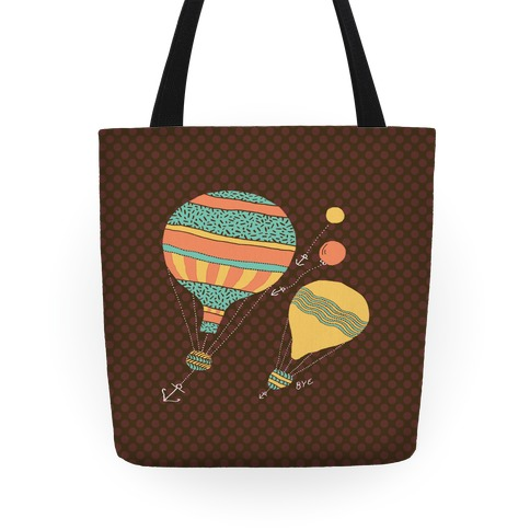 Tote Bags From World Balloon Travel