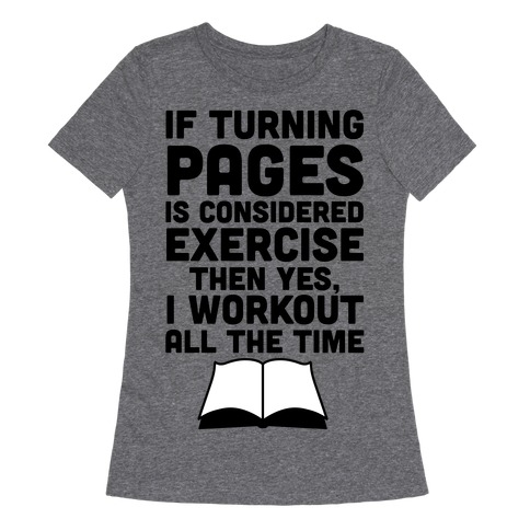 bookish gift pages read t-shirt