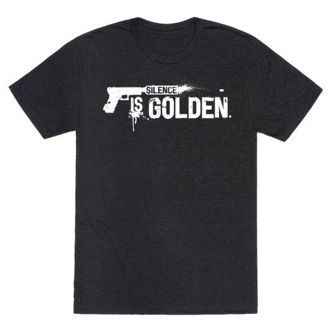 Silence is Golden 17207-2001blk