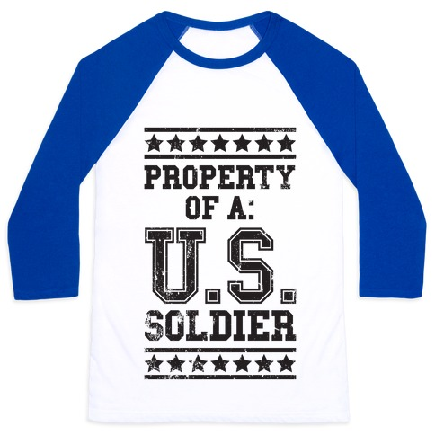 Property of a u s soldier t shirts tank tops for Property of shirt designs