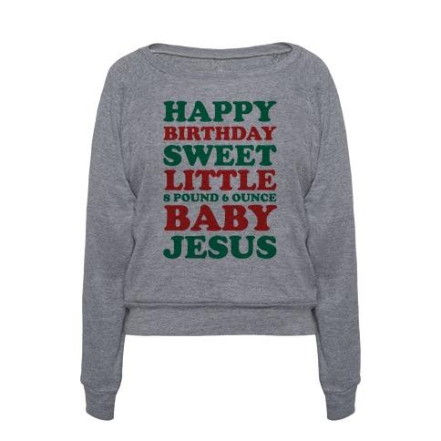 Happy Birthday Sweet Little Baby Jesus 72231-394atg