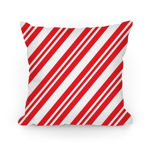 Candy cane stripe pattern pillows and pillow cases human