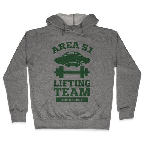Area 51 Lifting Team Hooded Sweatshirt
