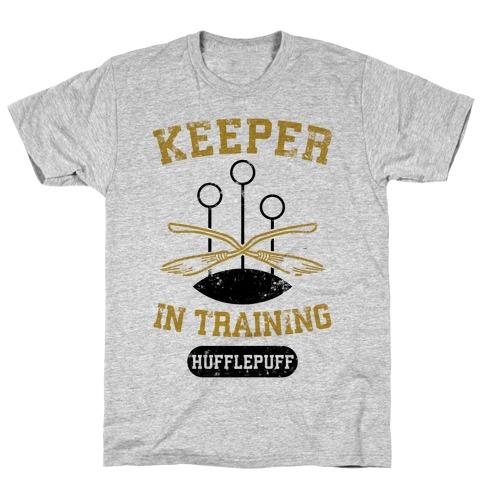 Keeper In Training (Hufflepuff) T-Shirt