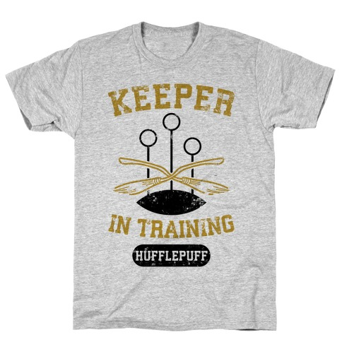 Keeper In Training (Hufflepuff) Mens T-Shirt