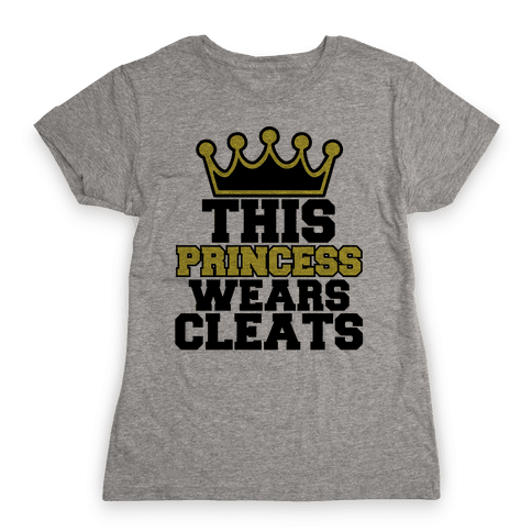 Soccer Princess Womens T-Shirt
