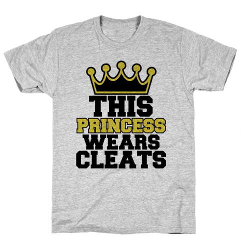 Soccer Princess Mens T-Shirt