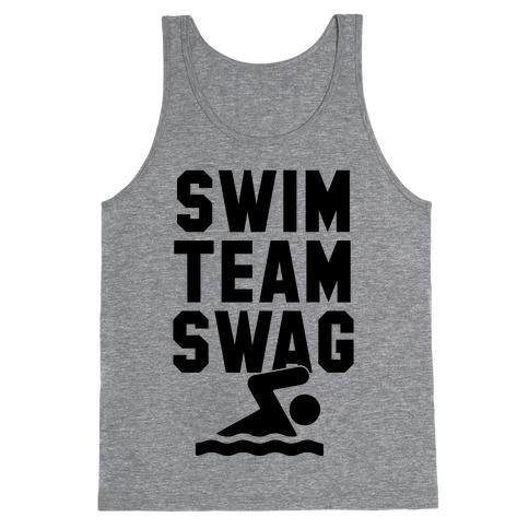Swim Team Swag Tank Top