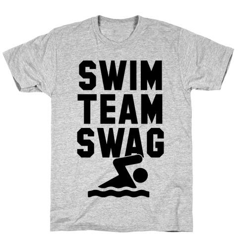 Swim Team Swag Mens T-Shirt