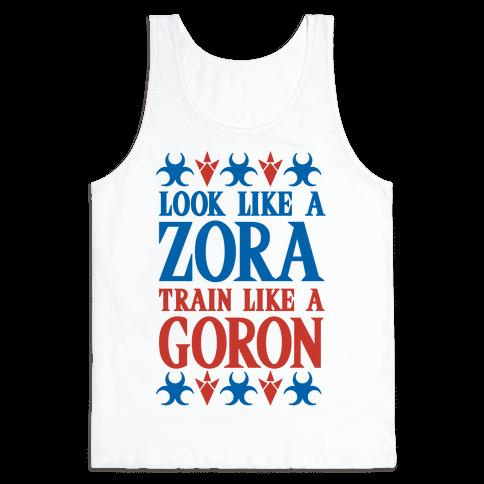 Look Like A Zora Train Like A Goron