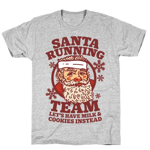 Santa Running Team T-Shirt