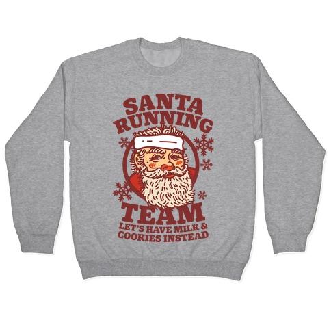 Santa Running Team Pullover