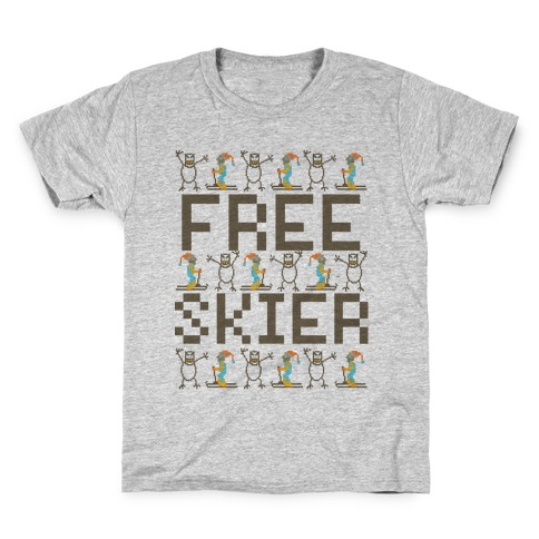 Skied Too Long Kids T-Shirt