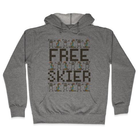 Skied Too Long Hooded Sweatshirt