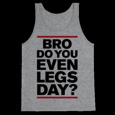 Legs Day Tank Top