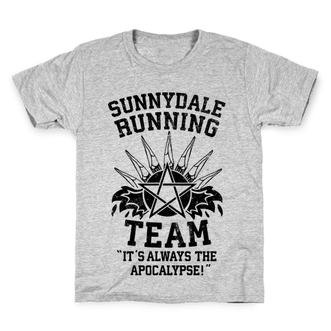 Sunnydale Running Team Kids T-Shirt