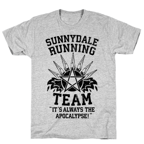 Sunnydale Running Team Mens T-Shirt