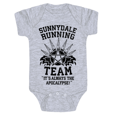 Sunnydale Running Team Baby Onesy