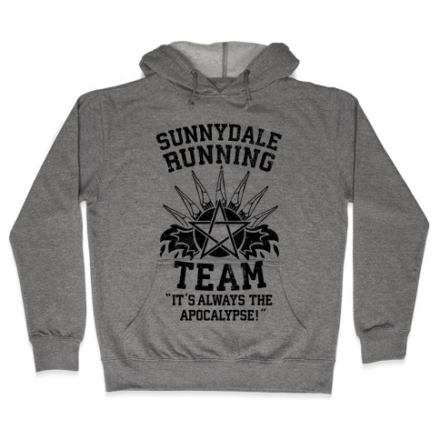 Sunnydale Running Team Hooded Sweatshirt