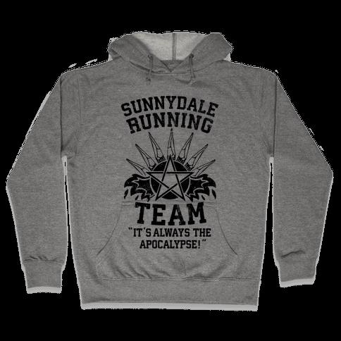 Sunnydale Running Team Hooded Sweatshirt
