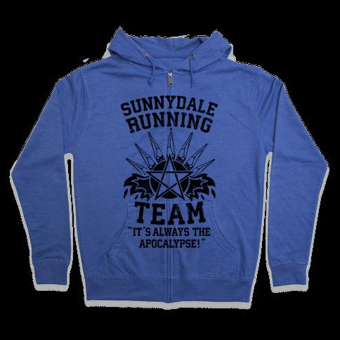 Sunnydale Running Team Zip Hoodie