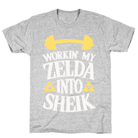 Workin' My Zelda Into Sheik Mens T-Shirt