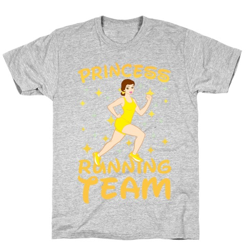 Princess Running Team (Yellow) T-Shirt