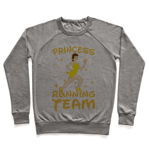 Princess Running Team (Yellow) Pullover