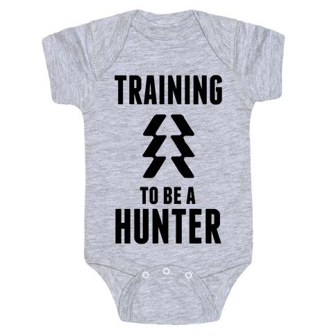 Training To Be A Hunter Baby Onesy