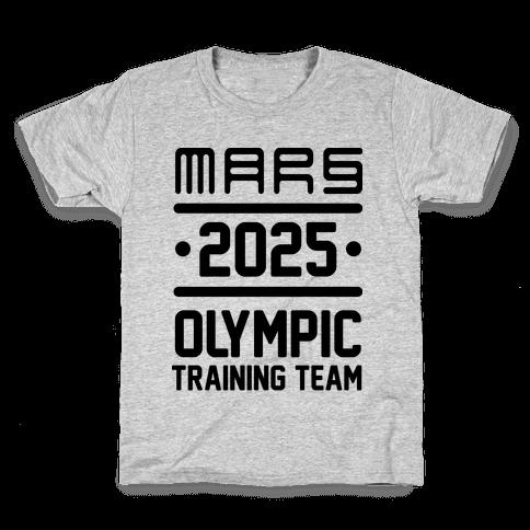 Mars Olympics Kids T-Shirt