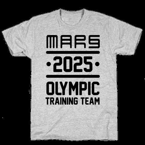 Mars Olympics Mens T-Shirt