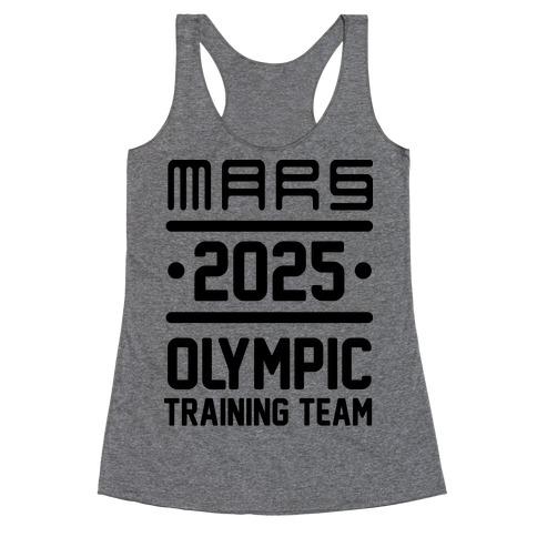 Mars Olympics Racerback Tank Top