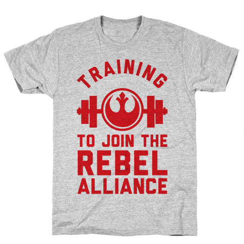 Training To Join The Rebel Alliance Mens T-Shirt
