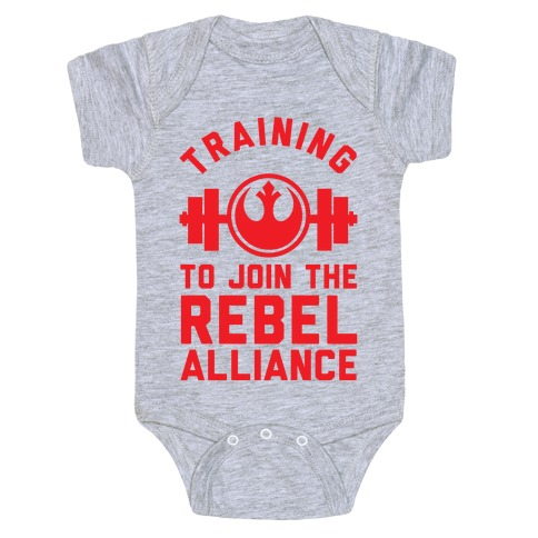 Training To Join The Rebel Alliance Baby Onesy