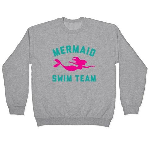 Mermaid Swim Team Pullover