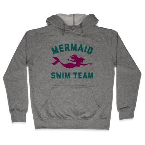 Mermaid Swim Team Hooded Sweatshirt