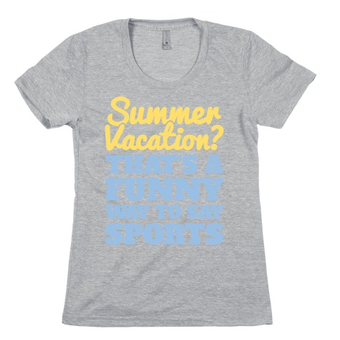 Summer Sports Womens T-Shirt