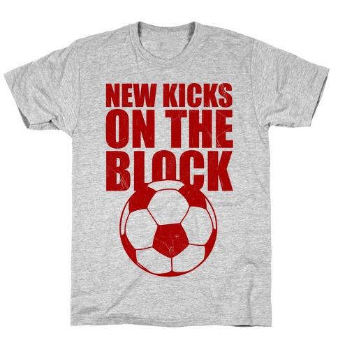 New Kicks On The Block T-Shirt