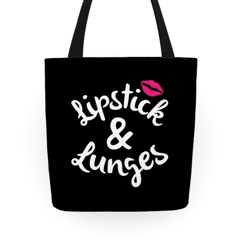 Lipstick & Lunges Tote