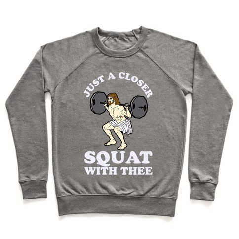 Just a Closer Squat With Thee Pullover