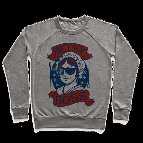 Betsy Boss Pullover