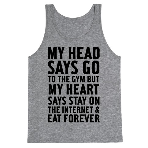Stay on the Internet Tank Top