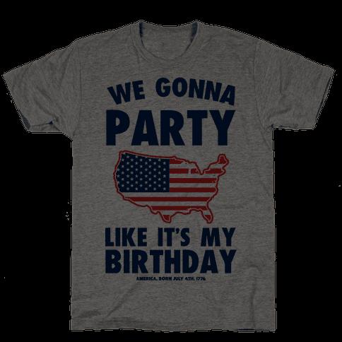 Merican Birthday Party